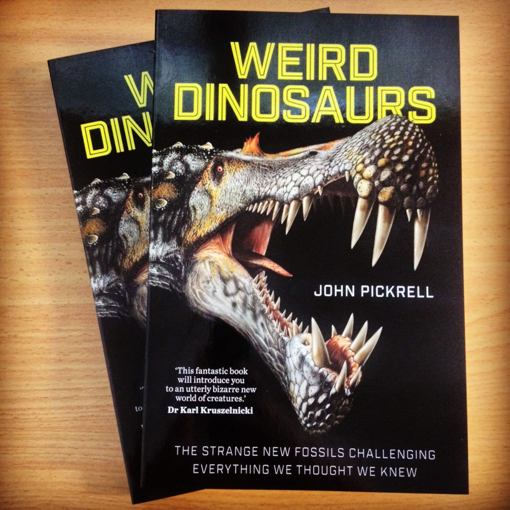 Weird Dinosaurs advance copies